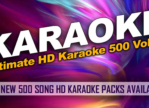 Karaoke Library Download Packs in HD format