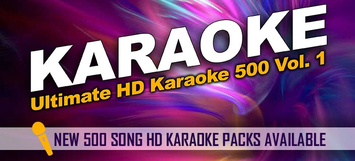 Karaoke Library Download Packs in HD format
