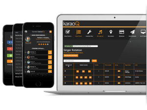 KaraoQ remote request system