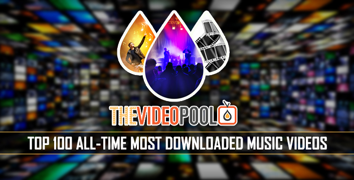 Top 100 Most Popular Music Video Downloads Of All-Time From The