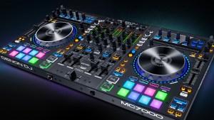 Denon MC7000 DJ Controller Angled