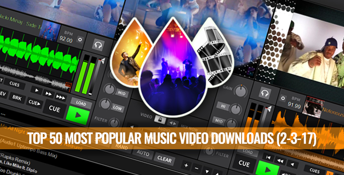 The Video Pool Top 50 Most Popular Music Video Downloads For Video