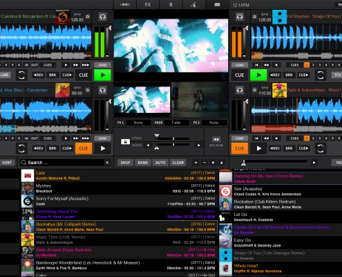 DEX 3.8 DJ mixing software skin