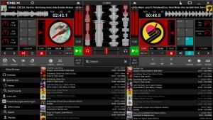 DEX 3 RE DJ software screensho