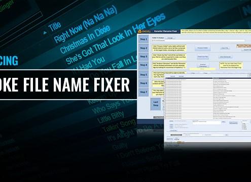 Karaoke File Name Fixer Batch Rename Karaoke Files