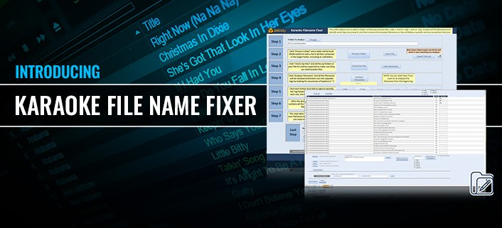 Karaoke File Name Fixer Batch Rename Karaoke Files