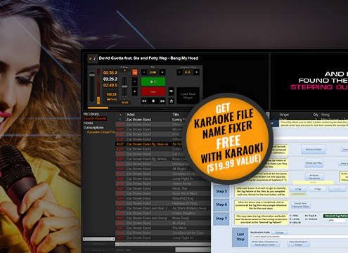 Karaoke File name fixer free with Karaoki promo