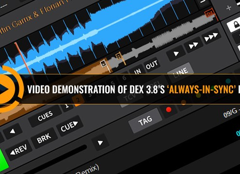 DEX 3 Beat Sync Demonstration