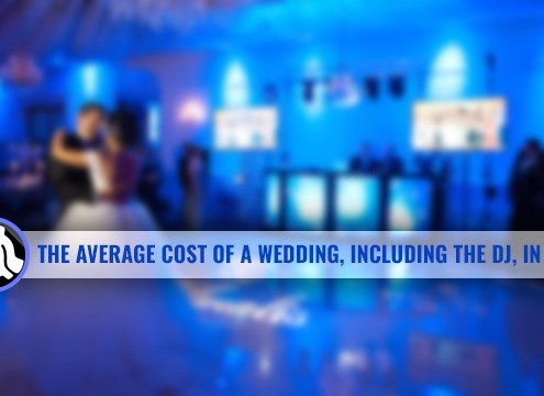 Average cost of a wedding DJ in 2017