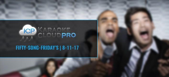 Download 50 karaoke songs 8-11-17