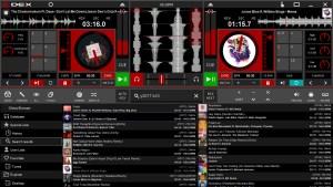 DEX 3 RE mixing software screen shot
