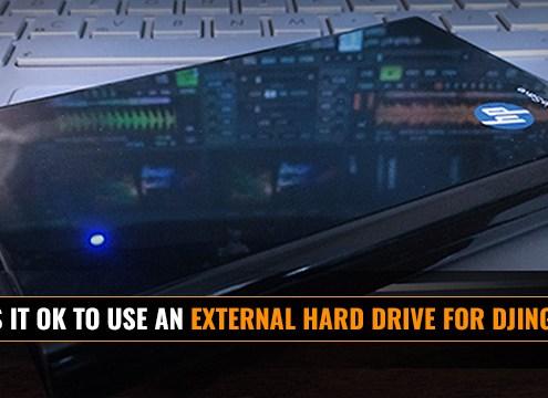 Using an external hard drive for DJing