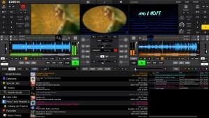 DEX 3.9.0.9 DJ mixing software screenshot