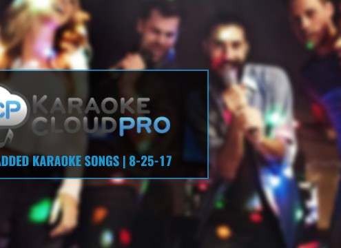 New Songs Added To Karaoke Cloud Pro 12-17