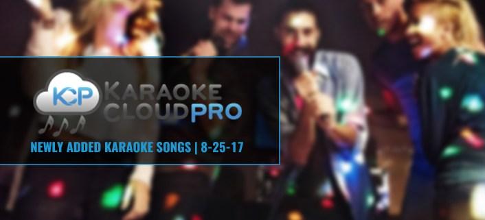 New Songs Added To Karaoke Cloud Pro 12-17