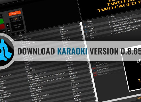Download Karaoki karaoke software v0.8.6546