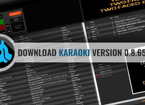 Download Karaoki karaoke software v0.8.6546