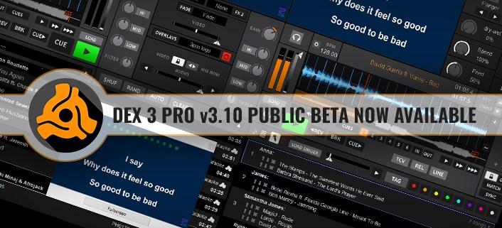 DEX 3 version 3.10 with Karaoke