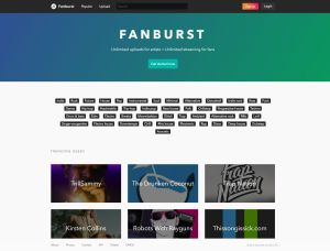 Fanburst Website
