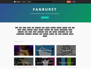Fanburst Website