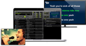 LYRX karaoke player for MAC