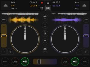 DJ DEX app platters