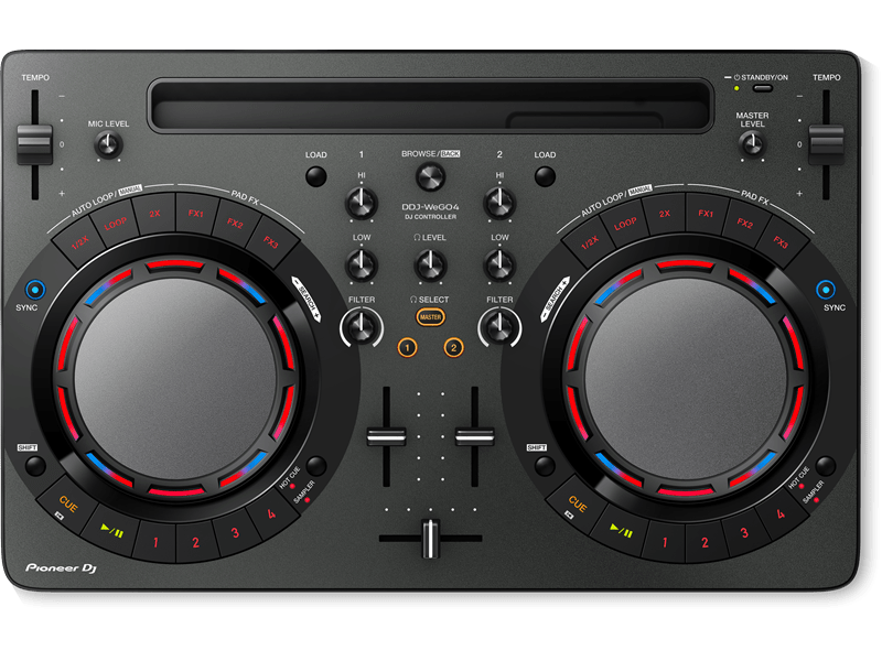 Pioneer DDJ-WeGO4 for iPad