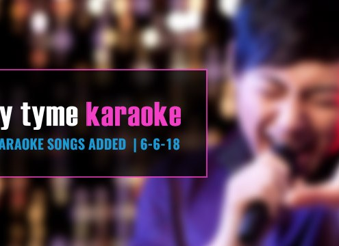 Download new karaoke songs with Party Tyme