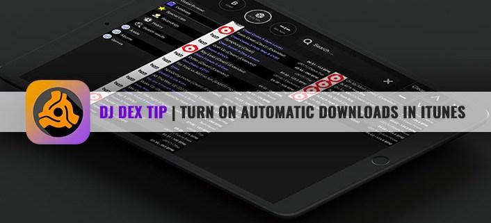 DJ DEX DJ mixing app for iPad