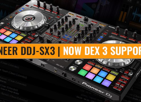 Pioneer DDJ-SX3 Now PCDJ Supported