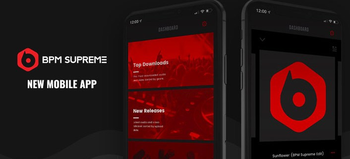 BPM Supreme Record Pool Mobile App