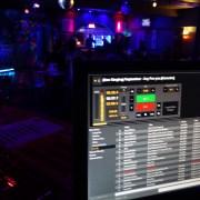Karaoki in a club