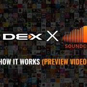 DEX 3 DJ Software with SoundCloud Streaming