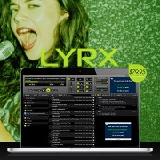 LYRX is the best karaoke software