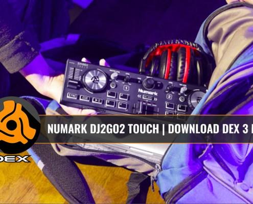 DJ2Go2 Touch DJ Controller with DEX 3