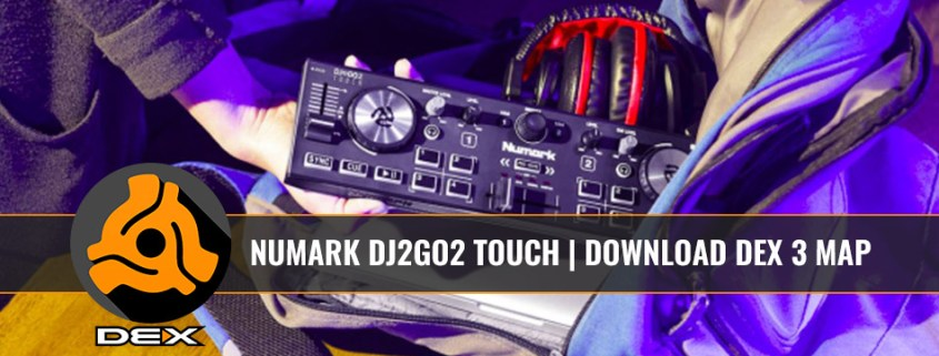 DJ2Go2 Touch DJ Controller with DEX 3