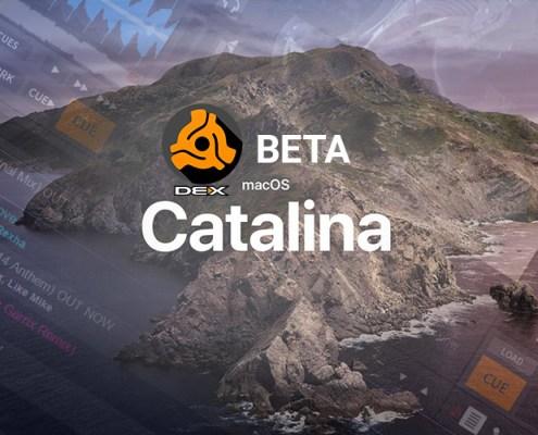 Beta test DEX 3 for Catalina