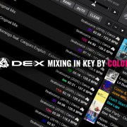 DJ Software Mixing in Key by Color