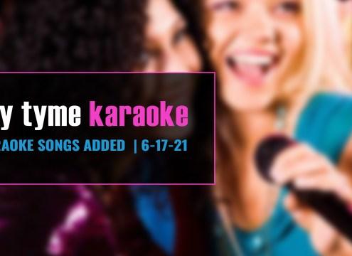 New Karaoke Songs for Karaoke Subscription