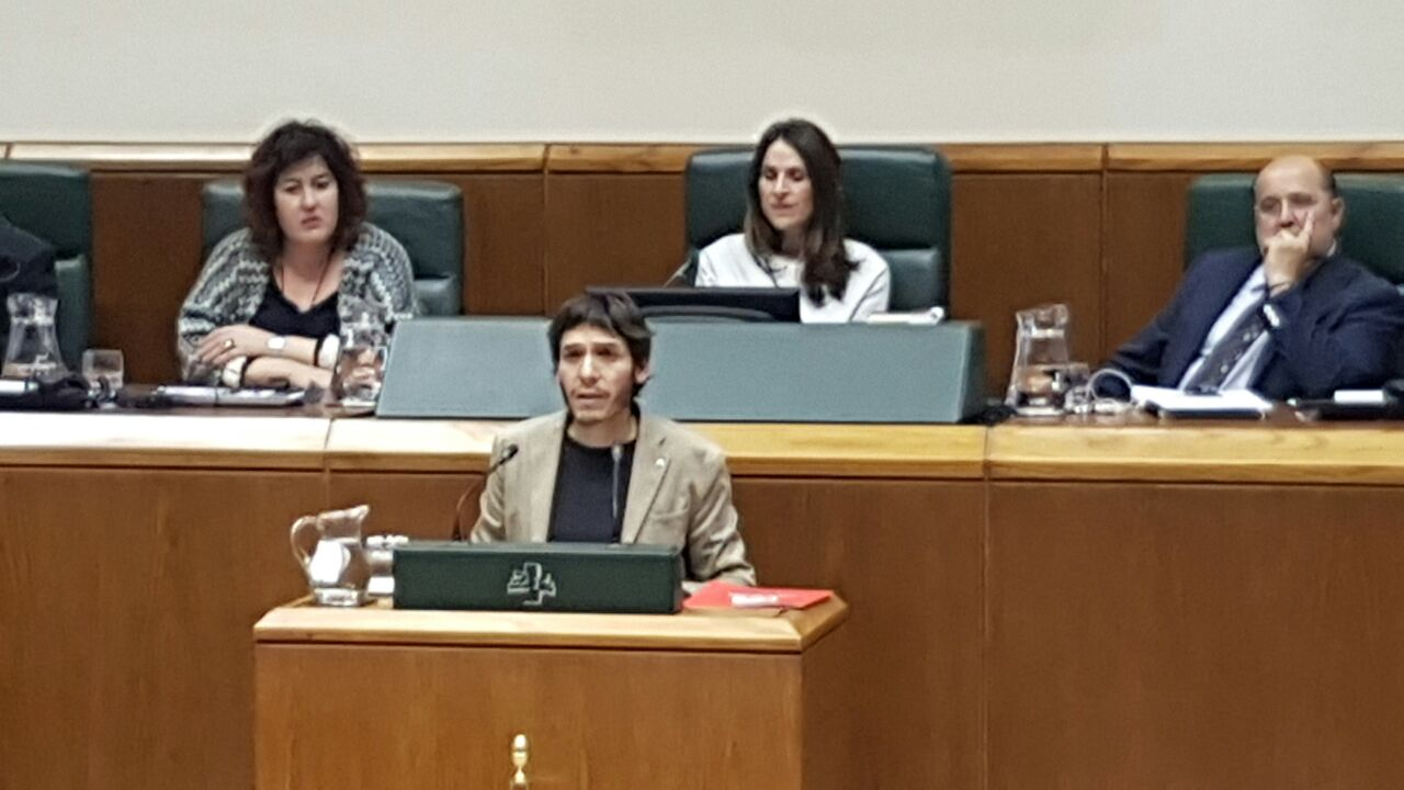 El PCE-EPK vuelve al Parlamento Vasco