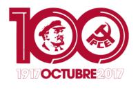 Logo Centenario Revolución de Octubre
