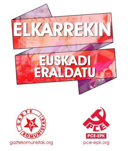 El Partido Comunista de Euskadi valora positivamente que la militancia y simpatizantes de Izquierda Unida apuesten por la coalición UNIDAS, Podemos – Izquierda Unida – Equo.