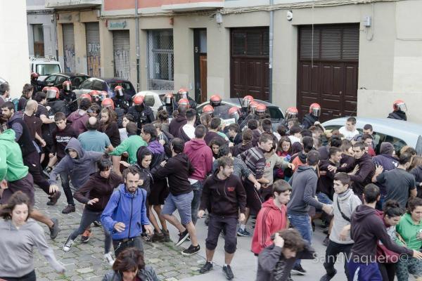 El PCE-EPK Navarra rechaza rotundamente el desalojo policial del Gaztetxe Maravillas