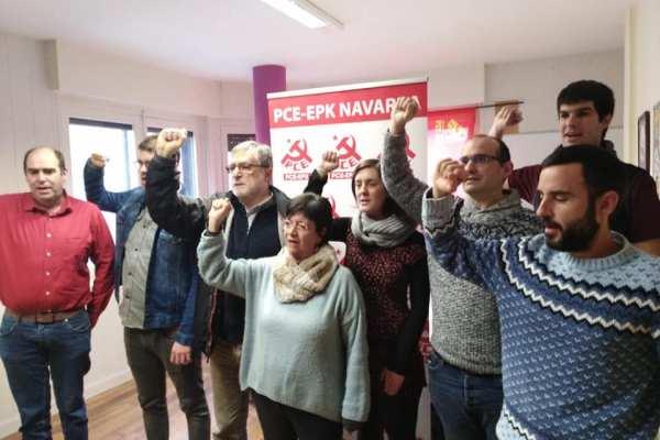 El PCE-EPK exige al Gobierno de Navarra garantizar la salud laboral de todos los y las trabajadores en activo.