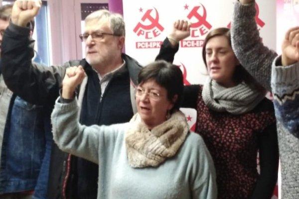 La Conferencia Política del PCE-EPK Navarra renueva su Comité Provincial y elige a Isabel Burbano como nueva Secretaria Política.