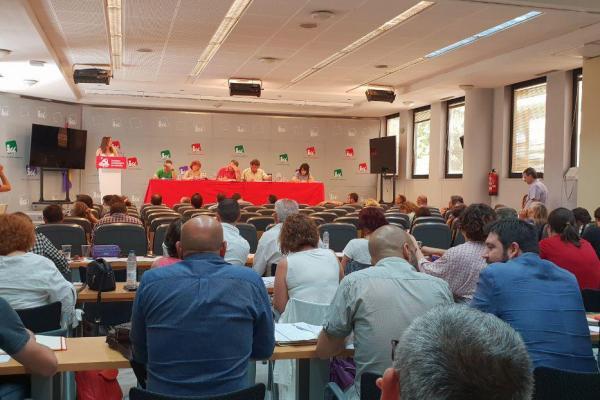 El Comité Central del PCE se reune hoy en Puente de Vallecas (Madrid).