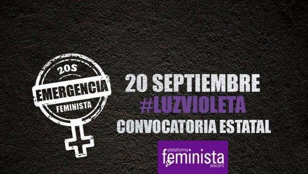 El Partido Comunista de Euskadi llama a secundar las movilizaciones feministas convocadas para este viernes 20 de Septiembre.