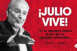 Agur Julio! ¡Hasta siempre camarada!