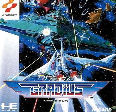 Image result for gradius pc-engine