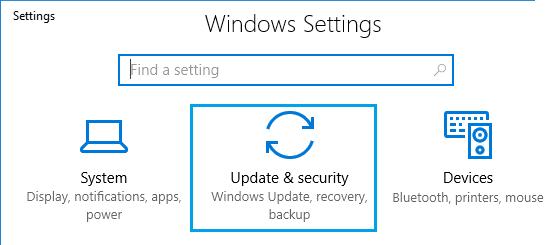 Windows 10 system update errors